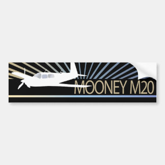 Aviação de Mooney M20 Adesivo Para Carro