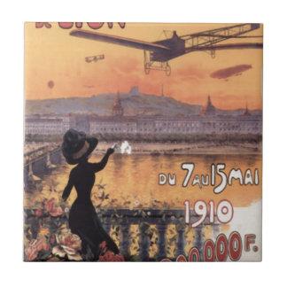 Aviação do francês do vintage