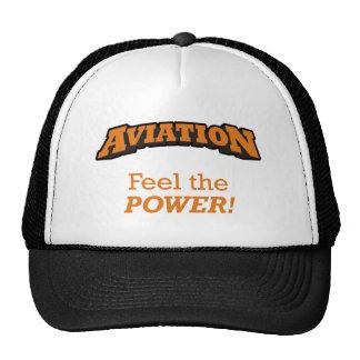Aviação/poder Boné