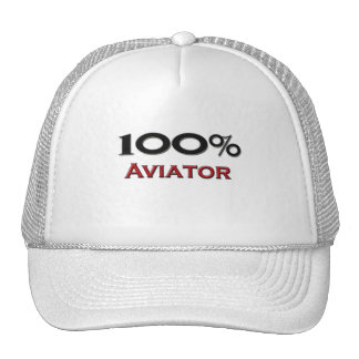Aviador de 100 por cento boné
