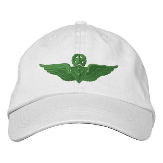 Aviador mestre do exército boné bordado