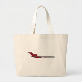 Avião comercial do jato modelo 3D Bolsas