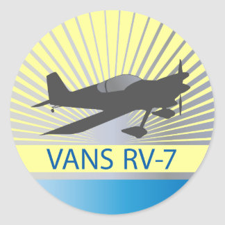Avião das camionetes RV-7 Adesivo