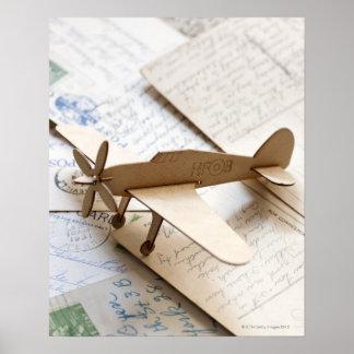 Avião de Carboard em cartão Impressão