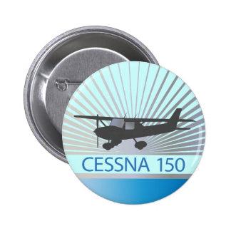 Avião de Cessna 150 Bóton Redondo 5.08cm