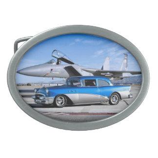 Avião de combate 1955 clássico especial do carro