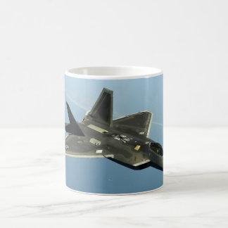 Avião de combate F-22 Caneca De Café