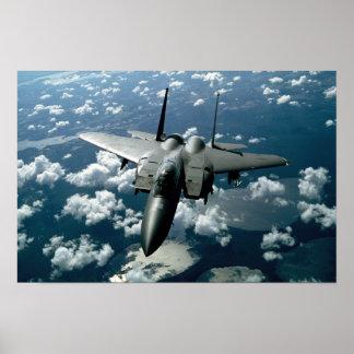 Avião de combate poster
