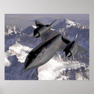 Avião de combate supersónico pôsteres