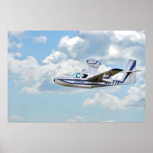 Avião do corsário do lago impressão