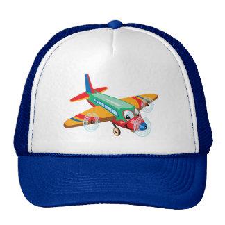 avião dos desenhos animados bonés