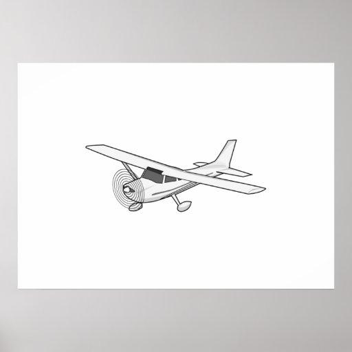 Avião Pôsteres