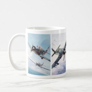 """Aviation Art Mug """"Fighter of World War II"""" Caneca De Café"""