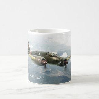 """Aviation Art mug """"Mitsubishi Ki-46 DINAH"""" Caneca De Café"""