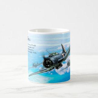 """Aviation Art Mug """"SBD Dauntless"""" Caneca De Café"""