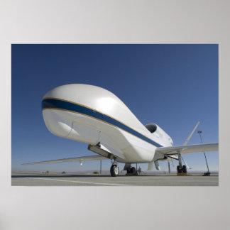 Aviões 2nãos pilotado do falcão global posteres