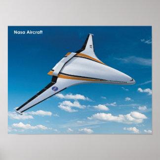 Aviões da NASA Poster