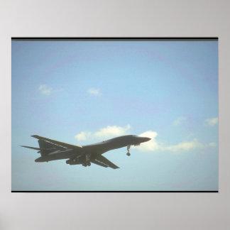 Aviões de B-1 Bomber_Military Pôster