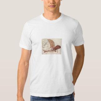 aviões de Leonardo da Vinci T-shirts