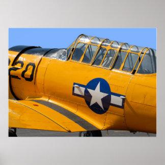 aviões de lutador da segunda guerra mundial poster