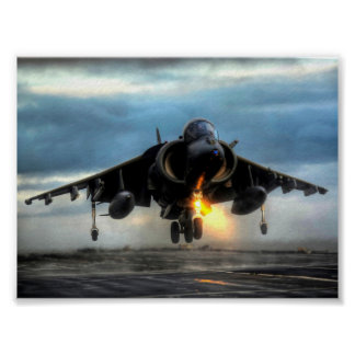 AVIÕES DO HARRIER POSTER