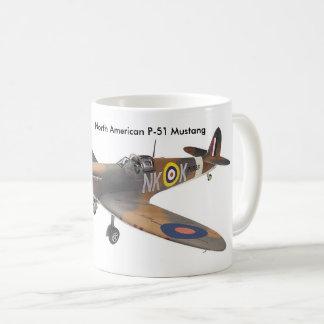 Aviões do ll da guerra mundial para a caneca