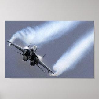 Aviões do russo impressão