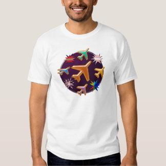 Aviões T-shirts