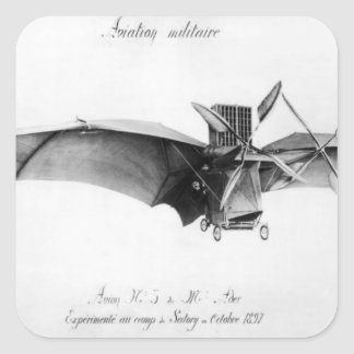 Avion III, 'o Bat Adesivo Em Forma Quadrada