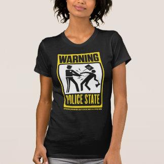 Aviso: Camisa do estado policial