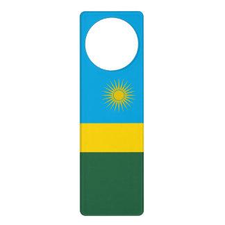 Aviso De Porta Bandeira de Rwanda