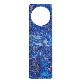 Aviso De Porta Cosmos azul #2