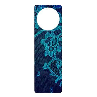 Aviso De Porta Laço gótico dos azuis marinhos do Victorian