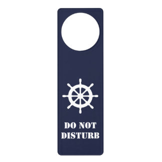 Aviso De Porta O silêncio por favor não perturba marítimo náutico