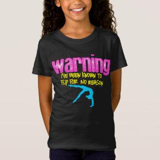 Aviso: Eu fui conhecido para lançar para nenhuma Camiseta
