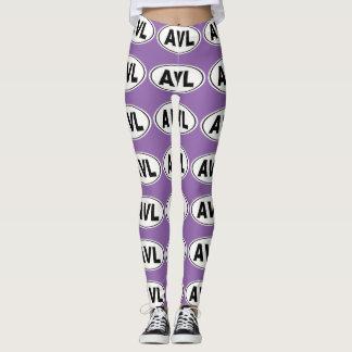 AVL Asheville North Carolina Leggings