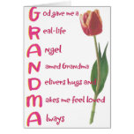 avó cartão