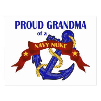 Avó de umas armas nucleares do marinho cartão postal