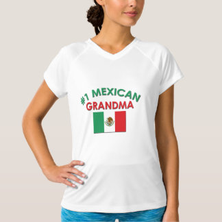 Avó do mexicano #1 camiseta