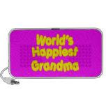 Avó felizes:  A avó a mais feliz dos mundos Caixinha De Som Para iPhone