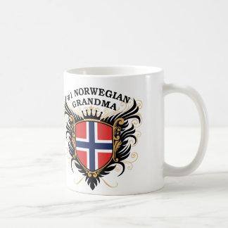 Avó norueguesa do número um caneca de café