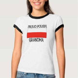 Avó polonesa orgulhosa tshirts
