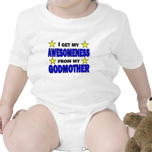Awesomeness de minha madrinha tshirts