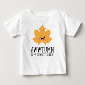 Awwtumn é minha camisa favorita do bebê da estação