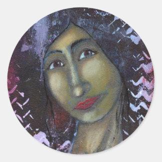 Ayesha feminino divino adesivo