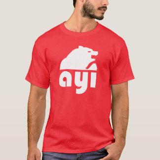 (Ayı) urso turco de S Camiseta