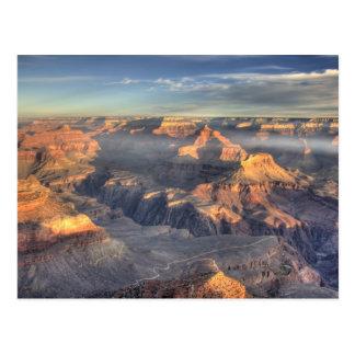 AZ, arizona, parque nacional do Grand Canyon, 5 su Cartao Postal