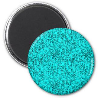 azuis abstratos ímã redondo 5.08cm