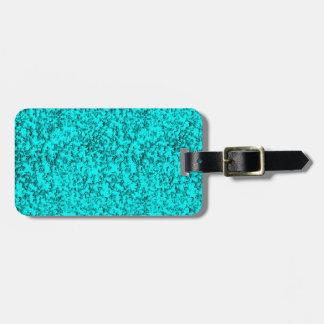 azuis abstratos tag de mala