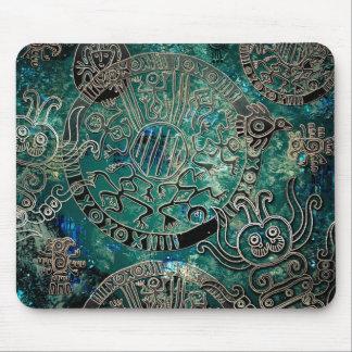 Azuis astecas Mousepad